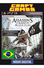 Assassins Creed Iv Black Flag Ps3 Digital Psn Portugues