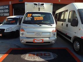 Hyundai Hr Com Baú Refrigerado Piso Canaletado Com Serviço