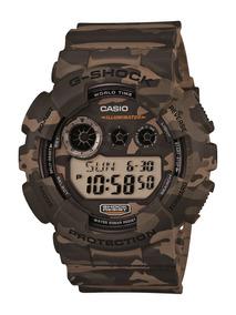 Relógio Masculino Casio G-shock Camuflado Gd-120cm-5dr
