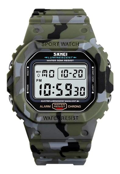 Relógio Masculino Skmei 1471 Esportivo Militar