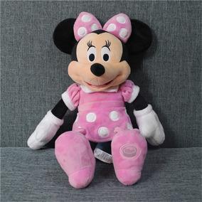 Minnie Pelúcia (rosa) 50 Cm Disney Store -original Disney