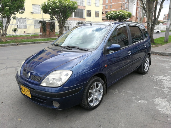 Renault Scenic Fase Lll Mt1600cc Azul Aa Ab