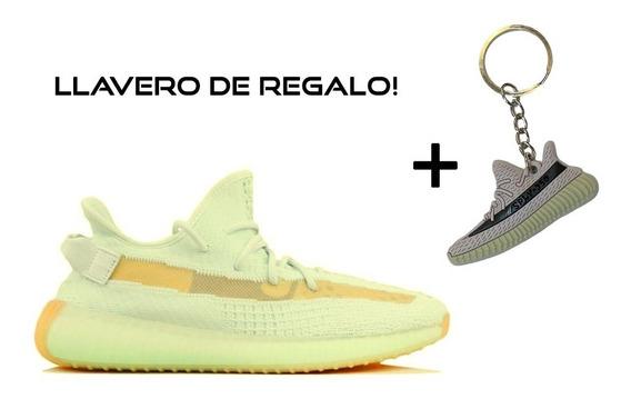 Zapatilla Yeezy Boost 350 V2 Hyperspace + Llavero De Regalo