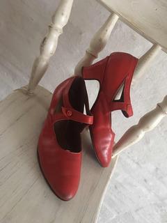 Zapato De Cuero. Folklore, Jazz, Español, Tango. Numer 32/33