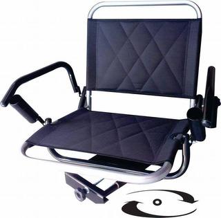 Cadeira De Barco Com Suporte De Guarda Sol E De Varas Elite