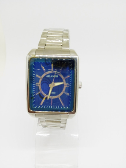 Relógio Atlantis Retangular
