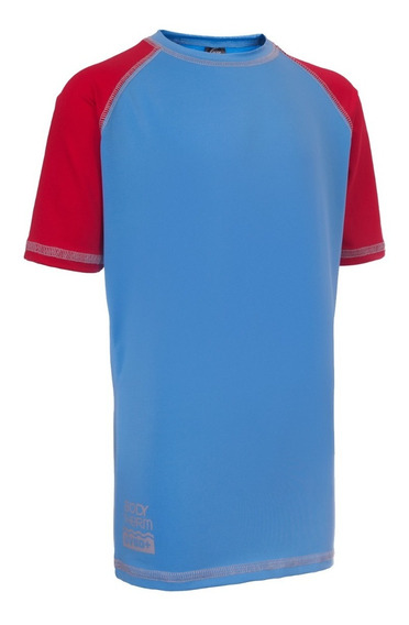 Remera Proteccion Solar Infantil Camiseta Uv 50 Chico Pileta