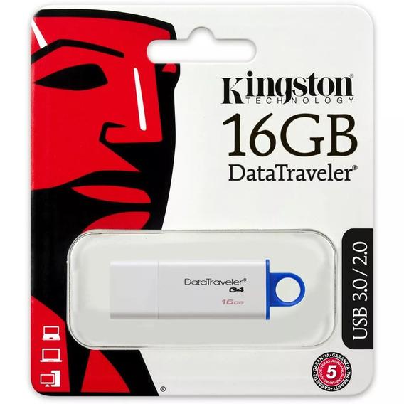 Kit 04 Pendrive Kingston Dtig4 16gb Usb 3.0/2.0 Original