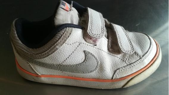 Zapatillas Nike De Nena De Cuero, Originales