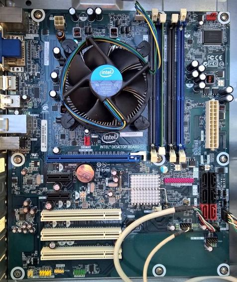 Processador Core I5 661 + Placa Mãe Intel Dh55hc + 4gb Ddr3