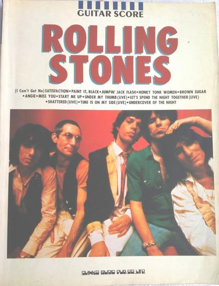 Songbook Rolling Stones Guitar Score (promoção)