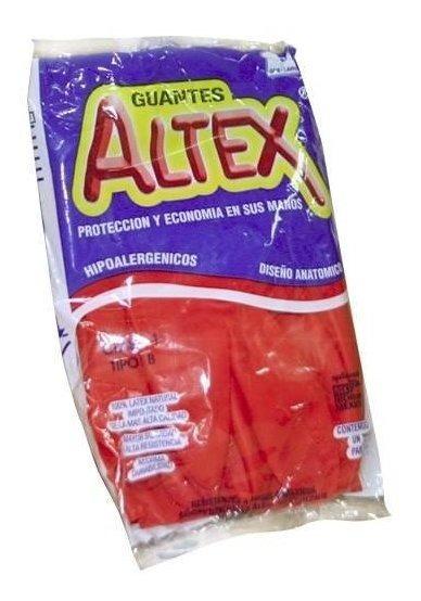 Kit De Guate De Latex No. 8 Color Rojo Con 100 Piezas