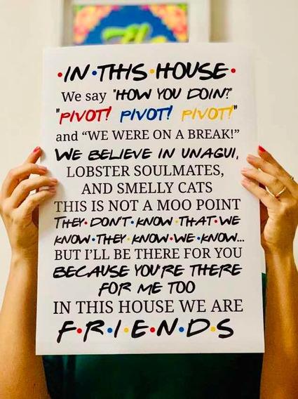 Póster Friends Ynt20