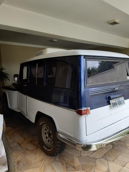 Rural Willys 4x4. 6cc (saia E Blusa)