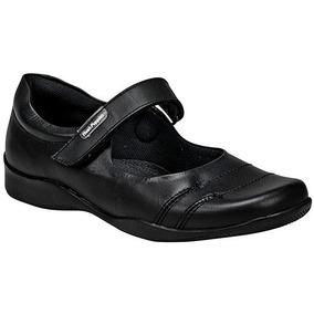 Zapatos Escolar Dama Negro Hush Puppies Piel Udt U45522