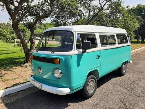 Imagem 1 de 13 de Volkswagen Kombi 1999 1.6 2p Gasolina Impecavel Nova
