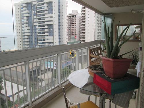 Apartamento Com 2 Quartos Para Comprar No Praia De Itaparica Em Vila Velha/es - Nva2104