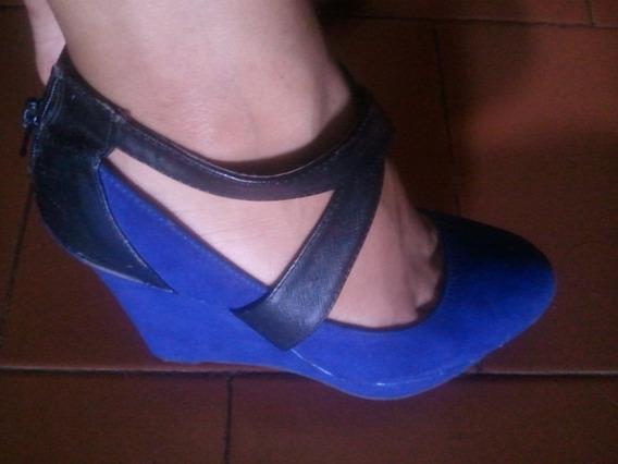 Bellos Zapatos Plataforma Dama