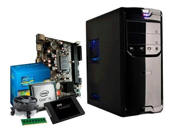 Pc Intel Core I5 3.3 Ghz, 8gb Ddr3, Ssd 240gb, Promoção + Nf