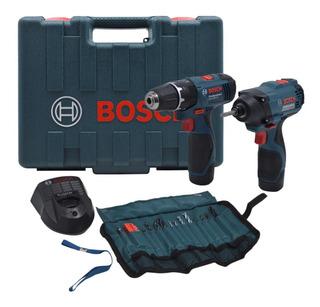 Furadeira Impacto Gsb 1200 + Parafusadeira Gdr120 Biv Bosch
