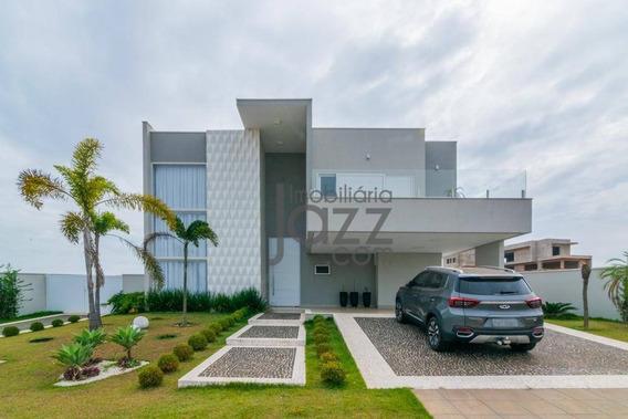 Casa Com 4 Dormitórios À Venda, 600 M² Por R$ 4.000.000,00 - Jardins Da Cidade - Nova Odessa/sp - Ca6838
