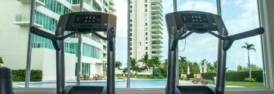 Departamento Renta Puerto Cancun 2 Recamaras 2 Baños Desarrollo Seguridad 24/7 Gym Zona Hotelera