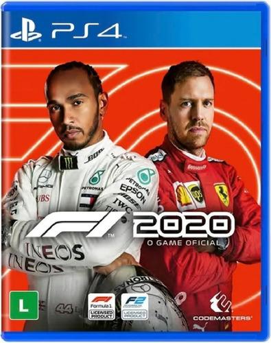 F1 2020 Ps4 Mídia Física Novo Lacrado Pronta Entrega