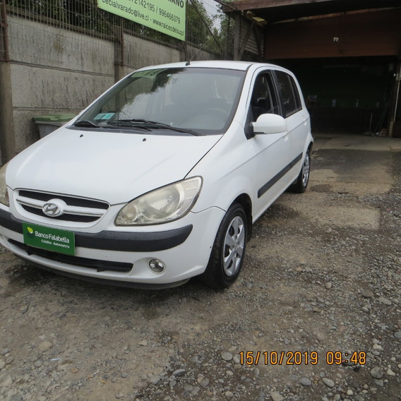 Hyundai Getz Gl 2011 $3.500.000 Pie $700.000