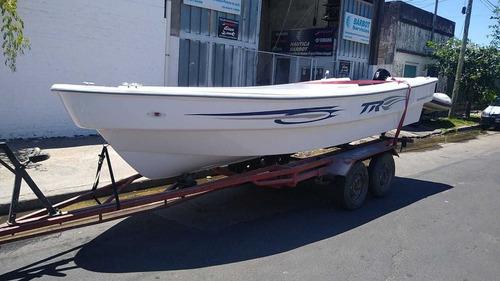 Lancha Tracker 520 Pescador Cero Horas