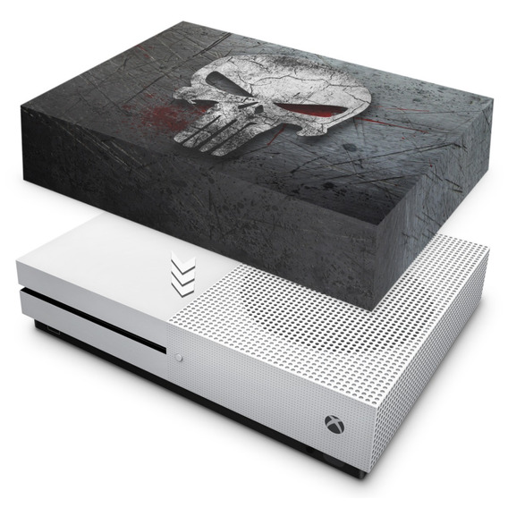 Capa Xbox One S Slim Anti Poeira Punisher Justiceiro B