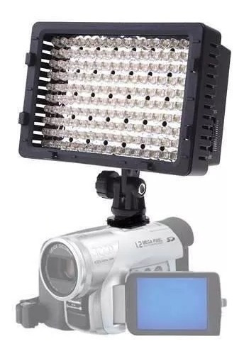Iluminador Ld 160 Led Vídeo E Foto Sony Nikon Refletor Cn160