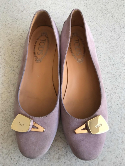 Preciosos Zapatos Flats Para Dama Marca Tods Originales