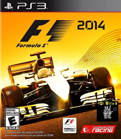 F1 2014 Jogos Ps3 Psn Original Receba Hoje