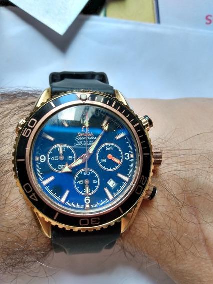 Relógio Ômega Seamaster Dourado Aprova D