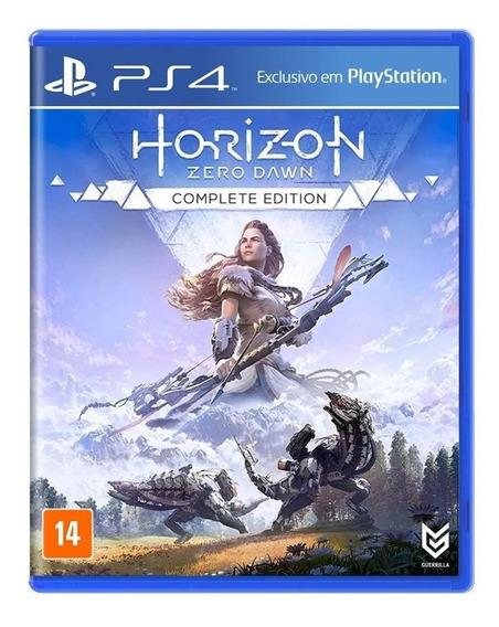Jogo Horizon Zero Dawn Complete Edition Mídia Física - Ps4