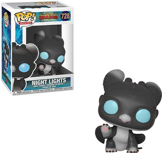 Funko Pop How To Train Your Dragon - Night Lights #728