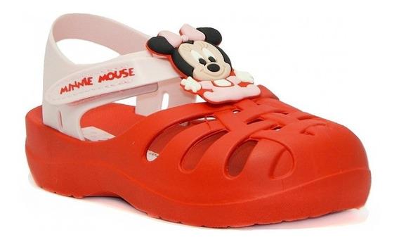 Sandália Disney Clássicos Grendene Kids 21870 - Vermelho