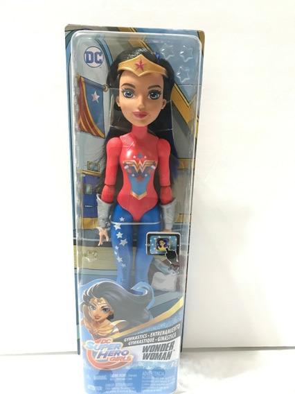 Dc Super Hero Girls - Munecas Gimnasia Fjg62-fjg63