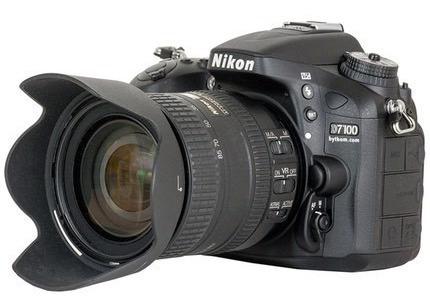 Imagem 1 de 5 de Câmera Digital Nikon Dslr D7100 24.1mp. + Lentes + Estanque