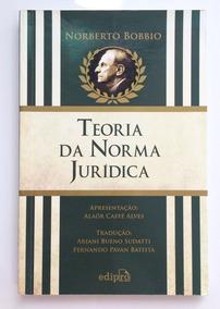 Livro Direito - Teoria Da Norma Jurídica - Norberto Bobbio