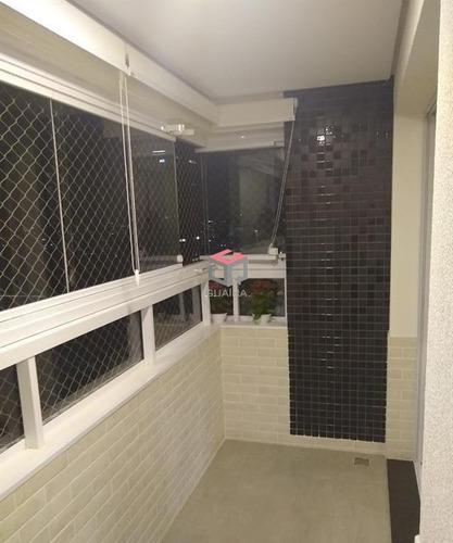 Imagem 1 de 20 de Apartamento À Venda, 3 Quartos, 1 Suíte, 3 Vagas, Campestre - Santo André/sp - 100352