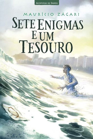 Livro Maurício Zágari - Sete Enigmas E Um Tesouro