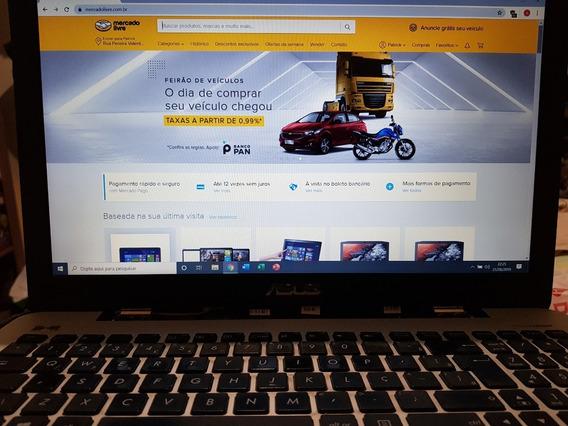Notebook Asus K555lb I5 8gb 1tb Geforce 940m Fullhd Gamer