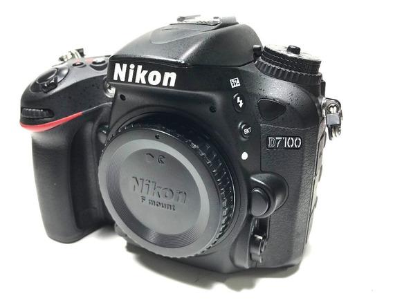 Camera Nikon D7100 Corpo Com Apenas 12k Super Novinha!