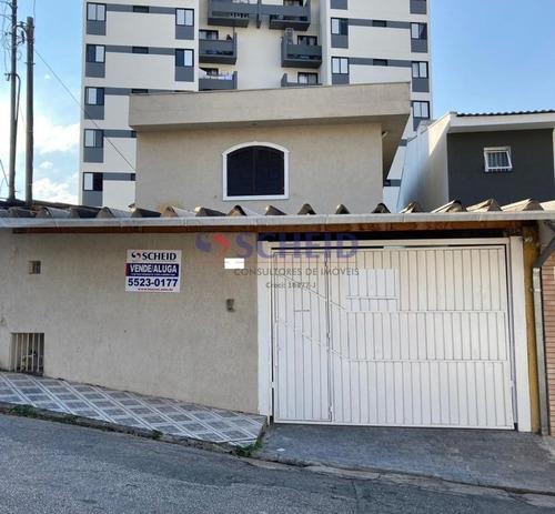 Ótimo Sobrado 3 Dorms 1 Suite C/ Closet Sala, 2 Vagas, Cozinha Ampla 3 Banheiros, Com Churrasqueira. - Mr48983