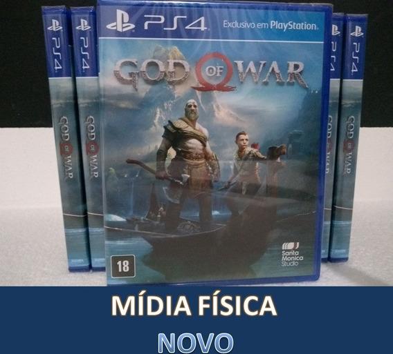 God Of War Ps4 Mídia Física Lacrado
