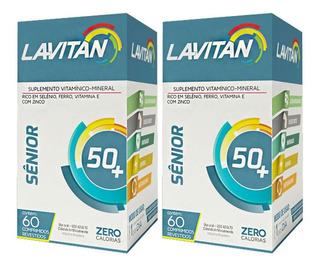 Kit 2x60 Lavitan Sênior (120 Comprimidos)