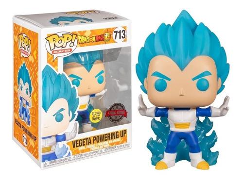 Funko Pop Dragon Ball Z Dbz - Vegeta Powering Up #713