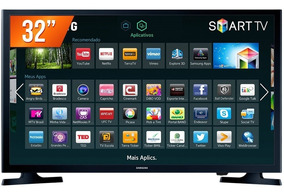 Smart Tv Led 32 Hd Samsung Hg32ne595jgxzd Wi-fi Integrado