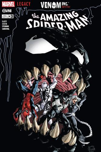 Cómic, Marvel, Amazing Spider-man (legacy) #3. Ovni Press